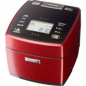三菱 NJ-VWA10-R IH炊飯器 5.5合炊き 本炭釜 激沸騰・泡昇り炊き 赤紅玉(あかこうぎょく)