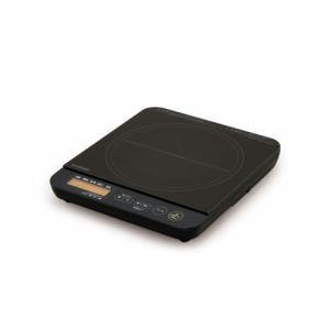 アイリスオーヤマ IHC-TE7-B 1口IHコンロ 1400W 液晶付き