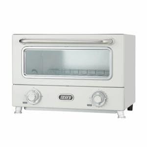ラドンナ K-TS3-PA Toffy 遠赤ヒーターオーブントースター ASH WHITE