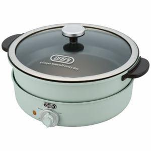ラドンナ K-HP2-PA 電気グリル鍋 TOFFY PALE AQUA