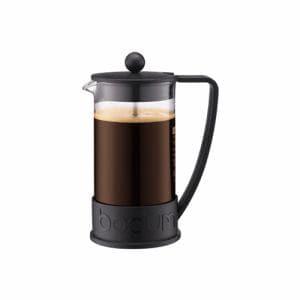 ボダム 10938-01 ブラジルフレンチプレスコーヒーメーカー 1L ブラック
