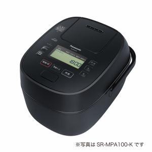 炊飯器 パナソニック SR-MPA180 IHジャー炊飯器 1升炊き ブラック 一升 1升