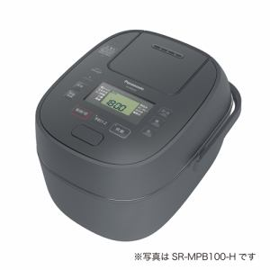 炊飯器 パナソニック SR-MPB180 IHジャー炊飯器 1升炊き グレー 一升 1升