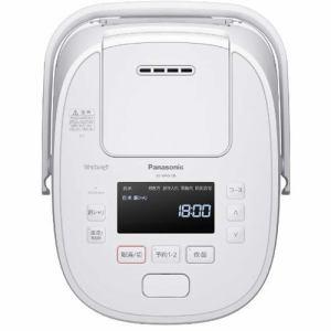 炊飯器 パナソニック SR-MPW100 IHジャー炊飯器 Wおどり炊き 5.5合炊き ホワイト 5.5合