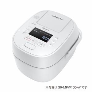 炊飯器 パナソニック SR-MPW180 IHジャー炊飯器 Wおどり炊き 1升炊き ホワイト 一升 1升