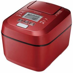 日立 RZ-V100DM R 圧力&スチームIHジャー炊飯器 ふっくら御膳 5.5合炊き メタリックレッド