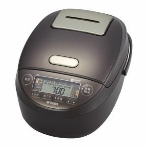 炊飯器 タイガー JPK-G100T 圧力IH炊飯器 炊きたて 5.5合炊き ブラウン 5.5合