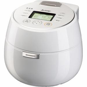 三菱電機 NJ-AWB10-W IHジャー炊飯器 5.5合炊き 本炭釜 KAMADO 羽釜タイプ 月白