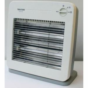 テクノス ES-K710(W) 薄型電気ストーブ800W