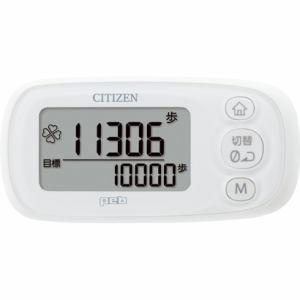 シチズン デジタル歩数計 「peb(ペブ)シリーズ」 3D加速度センサー ピュアホワイト TWT512-WH