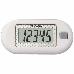 山佐時計計器 ポケット万歩 ホワイト EX-150-W