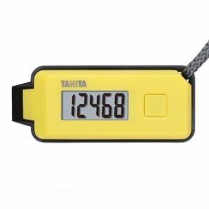 タニタ 緊急ホイッスル付き3Dセンサー搭載歩数計 「歩イッスル」 イエロー FB-738-YL