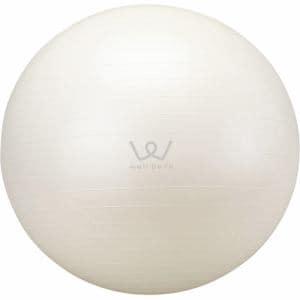 アルインコ WB125 エクササイズボール 65cm(ホワイト)