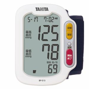 タニタ BPE13WH 手首式血圧計 ホワイト