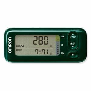 オムロン HJA-405T-G 活動量計 「カロリスキャン」 グリーン