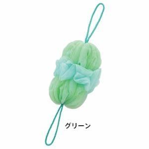 マーナ B691G 泡工場 背中も洗えるシャボンボール グリーン