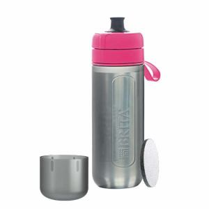 ブリタ BJGAPIZ 浄水機能付き携帯ボトル 「fill&&go Active(フィルアンドゴー アクティブ)」 ピンク