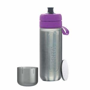 ブリタ BJGAPUZ 浄水機能付き携帯ボトル 「fill&&go Active(フィルアンドゴー アクティブ)」 パープル