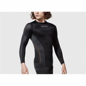 MTG SP-TL2312F-MM Training Suit Long Sleeve Top 男性Mサイズ SIXPAD  ブラック