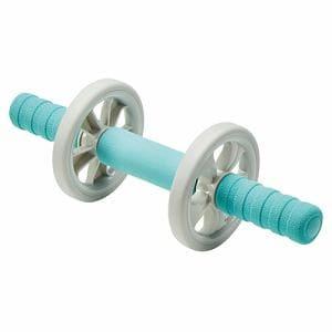 エレコム HCF-ARWBUL エクリアスポーツ 腹筋ローラー 幅広タイプ マット付 ブルー