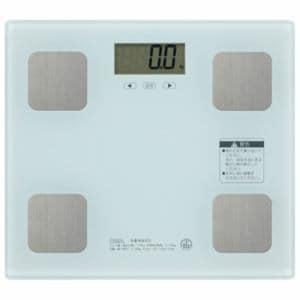オーム電機 HB-KG11R3-W 体重体組成計 ホワイト