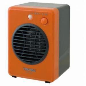 テクノス モバイルセラミックヒーター 300W オレンジ  TS-320