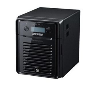 BUFFALO WSH5411DN08W6 NASサーバー 4ドライブ・8TB  TeraStation WSH5411DN Windows Storage Server 2016 Workgroup Edition