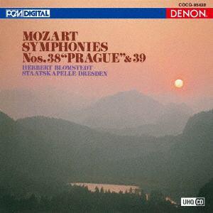 <CD> ブロムシュテット / UHQCD DENON Classics BEST モーツァルト:交響曲第38番《プラハ》&第39番