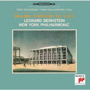 <CD> バーンスタイン / ブラームス:交響曲第2番&第3番