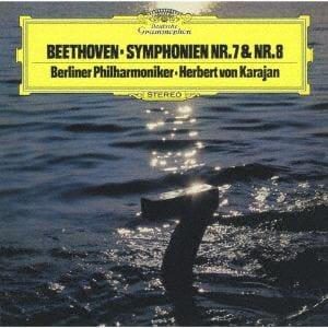 <CD> カラヤン / ベートーヴェン:交響曲第7番&第8番
