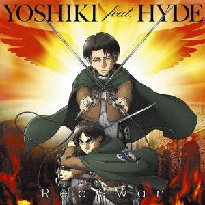 <CD> YOSHIKI feat.HYDE / Red Swan(進撃の巨人盤)