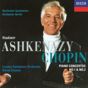 <CD> アシュケナージ / ショパン:ピアノ協奏曲第1番&第2番