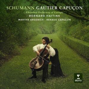 <CD> カピュソン(ゴーティエ) / シューマン:チェロ協奏曲、室内楽作品集