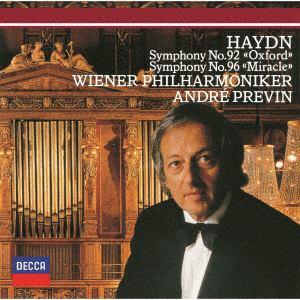 <CD> プレヴィン / ハイドン:交響曲第92番「オックスフォード」・第96番「奇跡」