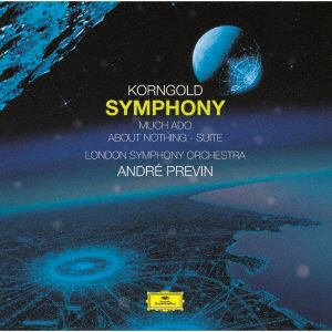 <CD> プレヴィン / コルンゴルト:交響曲、組曲「空騒ぎ」