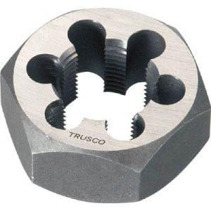 TRUSCO 六角サラエナットダイス 並目 M22X2.5