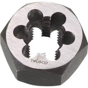 TRUSCO 六角サラエナットダイス W1-8