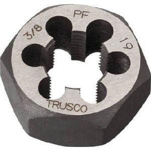 TRUSCO 六角サラエナットダイス PF3/4-14