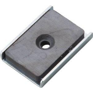 TRUSCO キャップ付フェライト磁石25.5mmX23.5mmX6.5mm