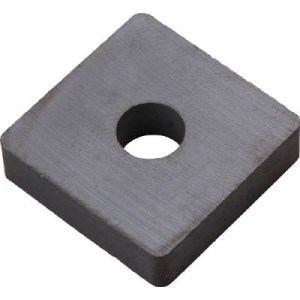 TRUSCO フェライト磁石 40mmX25mmX5.2mm 1個入り
