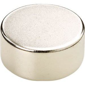 TRUSCO ネオジム磁石 丸形 外径8mmX厚み2mm 1個入