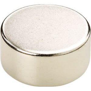 TRUSCO ネオジム磁石 丸形 外径12mmX厚み1.3mm 1個入