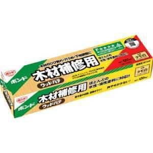 コニシ ウッドパテ タモ白 120ml
