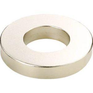 TRUSCO ネオジム磁石 外径14mmX穴径9mmX厚4mm 1個入
