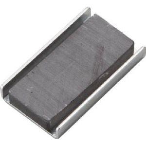 TRUSCO キャップ付フェライト磁石36mmX21mmX6mm 10個入り