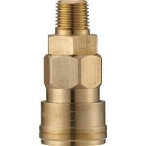 ナック クイックカップリング AL20型 真鍮製 メネジ取付用