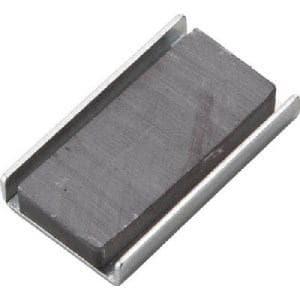 TRUSCO キャップ付フェライト磁石60mmX23.8mmX6.8mm 5個