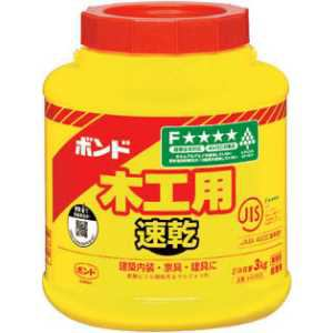 コニシ ボンド木工用速乾 3kg(ポリ缶)