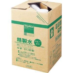 TRUSCO 精製水 20L