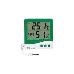 A&D 時計付き内外温度・湿度計